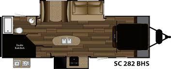 Shadow Cruiser Floor Plans Sc 282bhs Cruiser Rv