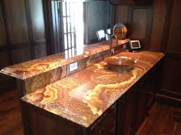 Onyx Countertops Bathroom Bathroom Decoration Using Decorative Lighted Brown Onyx Bathroom