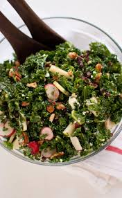 cranberry salads thanksgiving kale salad with apple cranberries and pecans recipes noshonit
