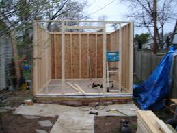How To Build A Shed From Scratch Uk by Building A Complete Diy Workshop 8 Steps With Pictures