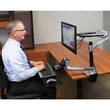 Ergotron Sit Stand Desk Ergotron Workfit Lx Sit Stand Desk Mount System Standing Desks