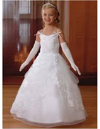 communion gowns skirt communion dresses with lace jacket white