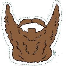 reddick beard cutout birthday party ideas pinterest beards