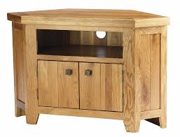 Tv Unit Furniture York Solid Oak Chunky Corner Tv Unit Cabinet Furniture Corner Tv