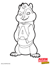 free alvin coloring printable perfect for a road trip alvin and