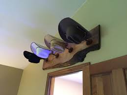 home interior cowboy pictures cowboy hat rack rustic pipe steampunk live edge wood rustic