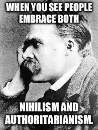 Nietzsche Meme - image tagged in nietzsche imgflip