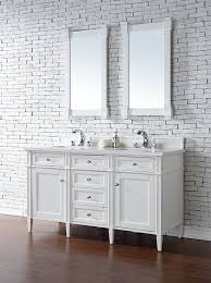 Bathroom Vanity 60 Inch by James Martin Brittany Double 60 Inch Transitional Bathroom