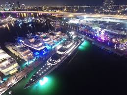 island gardens welcomes first ever superyacht miami show