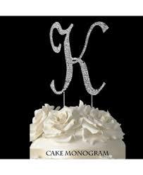k cake topper silver monogram cake toppers cake supplies baking supplies