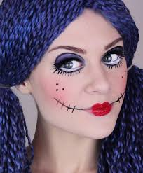 Make Up For Halloween Rag Doll Makeup For Halloween Try It With Crcmakeup Com