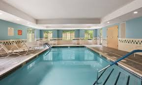 Home Plans With A Courtyard And Swimming Pool In The Center Homewood Suites By Hilton Wallingford Meriden Ct Hotel