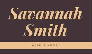 freelance makeup artist business card customize 45 makeup artist business card templates online canva