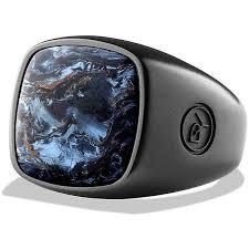 mens rings stones images David yurman exotoc stone pietersite ring 575 liked on jpg