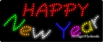 led new years happy new year animated led sign led signs and light box wholesale
