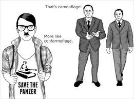 Advice Hitler Meme - since when was hitler cool outrage after jokey comic strip