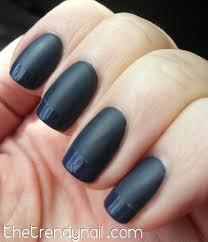 matte u0026 shiny nails the dark side the trendy nail