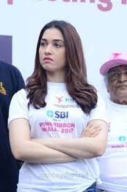 Breast Cancer Flags Picture 1257715 Actress Tamanna At Pink Ribbon Breast Cancer