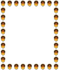 thanksgiving clip borders png clipartsgram