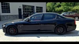 maserati black 4 door 2011 maserati quattroporte gt s youtube