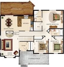 cottonwood floor plan if have fireplace on side of living room and
