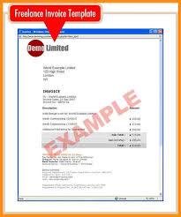 8 freelance invoice template uk parts of resume