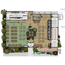 floor plan layout design exle restaurant planning design commercial