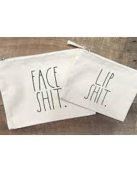 rae dunn check out these bargains on rae dunn inspired make up bags face sh