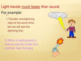 which travels faster light or sound images Light jpg