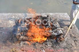 human cremation cremation of a human stock photos freeimages