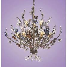 Glass Shade Chandelier Crystal Glass Shade Chandeliers Bellacor