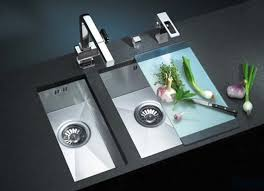 Sink Designs Kitchen Contemporary Stainless Steel Kitchen Sinks Good Looking Interior