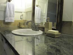 bathroom countertop ideas bathroom countertop materials oval shaped mirror with white frame