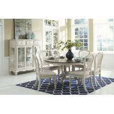 white and gray dining table dining sets birch lane