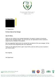 fan who hilariously applied for ireland manager u0027s job receives