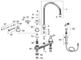 18 kitchen faucet spray head faucet com 58065 in chrome by