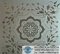 Perforated decorative metal sheets Wuzhou Kingda Wire Cloth Co Ltd