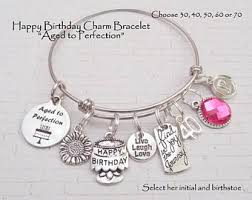 birthday charm bracelet happy 13th birthday charm bracelet for girl birthday