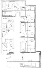 four bedroom house floor plans housing baker residence halls baldwin city ks