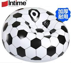 canape pvc large flocage pvc gonflable paresseux basket de football