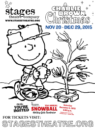 charlie brown christmas stages theatre company