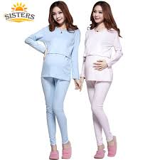 maternity nursing 100 cotton maternity nursing clothes sleepwear costume
