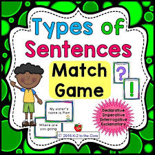 170 best types of sentences images on pinterest types of