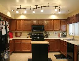 attractive kitchen island track lighting in home remodel