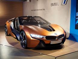 Bmw I8 Black And Blue - 2017 bmw i8 to have more power and longer range gtspirit