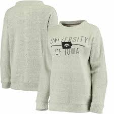 iowa hawkeye sweater pressbox iowa hawkeyes s comfy terry crew sweatshirt