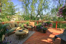 patio exles ideas for patios decks using an automatic plant watering system