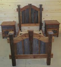 Wooden Log Beds Arched Keystone Gray Panel Barnwood Bed U2014 Barn Wood Furniture