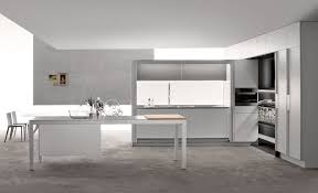 linear kitchen contemporary kitchen laminate hidden with recessed doors