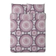 Plum Duvet Cover Set Purple Geometric Circle Duvet Set 100 Cotton Purple Bedroom